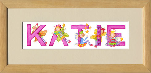 Personalised Name Prints - Fairy