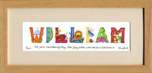 Personalised Name Print - Jungle Animal